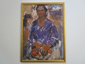 JAMES-COLT-PAINTING-AMERICAN-IMPRESSIONISM-PORTRAIT-INDIAN-OR-MEXICAN-WOMAN-TAOS