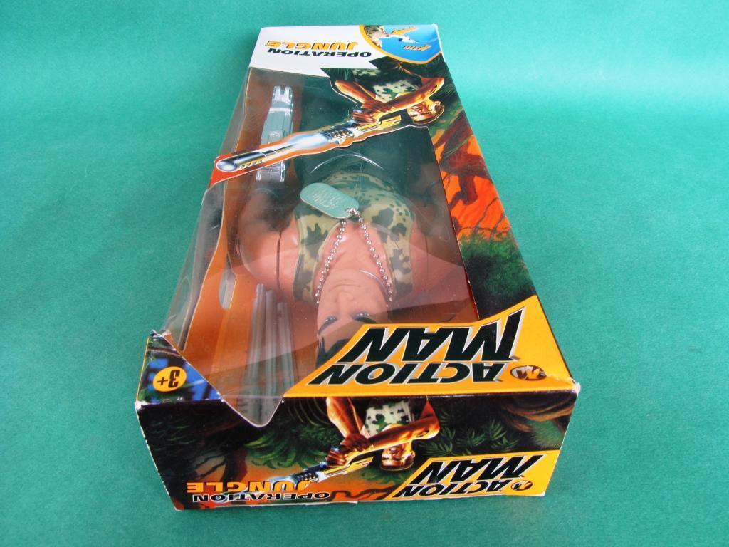 Action Man Man Man Operation Jungle MISB Hasbro 1997 f0ea1b
