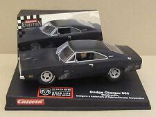"25715 Carrera 1969 Hemi Dodge Charger 500 ""Dirty Black Street Car"" 1:32 Slot Car"