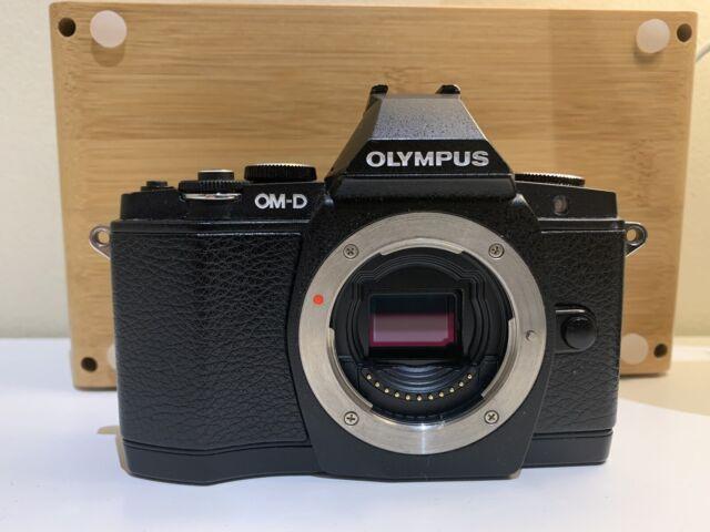 Olympus  OM-D E-M5 16.1 MP Digital Camera - Black (Body Only)