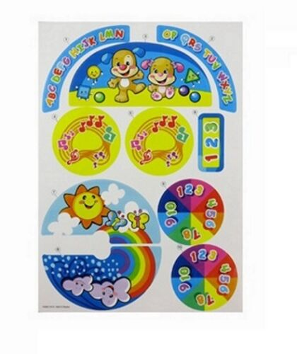 New ~ FISHER PRICE Laugh /& Learn Car Replacement LABELS DECALS STICKERS