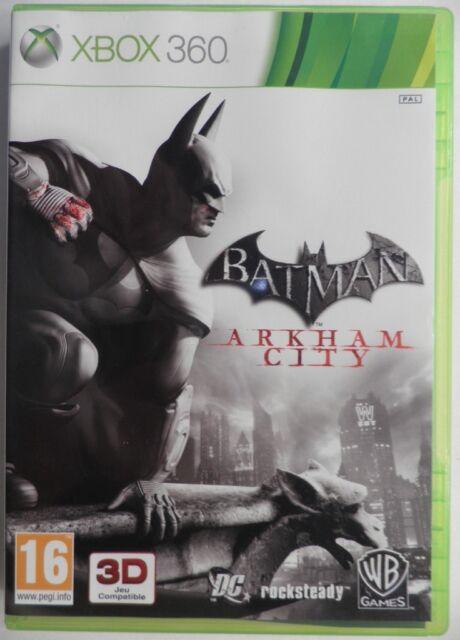 OCCASION complet jeu BATMAN ARKHAM CITY pour xbox 360 game francais action spiel