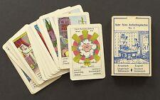 Vintage Fortune Telling Oracle Cards Deck Piatnik Auflschlagkarten ca 1950