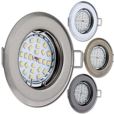Einbaustrahler LED GU10 230V Einbau-Leuchte Decken-Strahler Einbau-Spot OH14