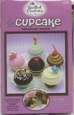 Quilled Creations CUPCAKE TREASURE BOXES KIT Quilling