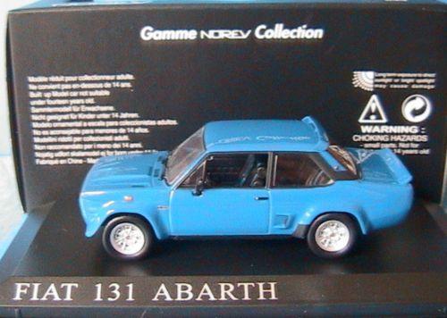 FIAT 131 ABARTH 1976 BLEU NOREV 770171 1 43 1 43 bleu B