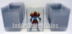 Motu Bulle Étui Lot Of 50 Figurine Articulée Écran D'affichage Protectrice