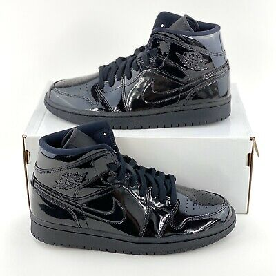 Nike Air Jordan 1 Mid Leather Triple
