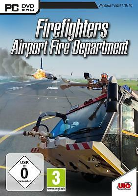 Pc Game Airport Fire Brigade the Simulation Firefighters Department New  4020636128912 | eBay