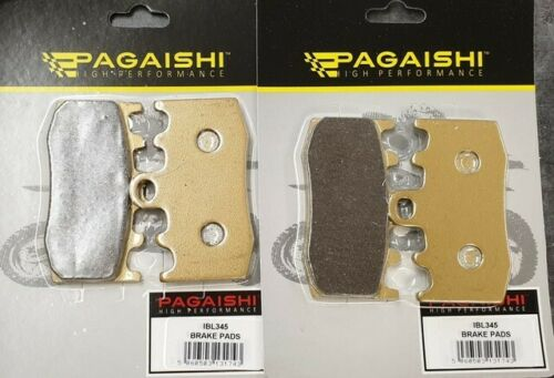 Pagaishi Front Pads Set For BMW R 1200 RT ABS 2007