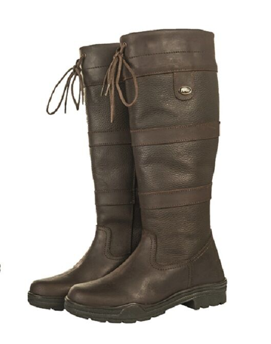 HKM Belmond SPRING Reg. Fit Oiled Leather Long Country Horse Riding Yard Boots