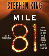 """Mile 81 : Includes Bonus Story """"The Dune"""" by Stephen King (2012, CD, Unabridged)"""