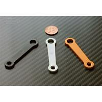 Sato Racing Black Aluminum Universal Reservoir Bracket - 50mm / 6mm - 8mm Hole