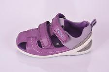 Ecco Biom Girls Fisherman Lite Purple Leather Closed Toe Sandals UK 6 EU 23