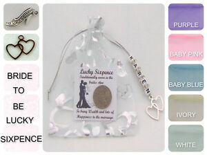 PERSONALISED-LUCKY-SIXPENCE-BRIDE-TO-BE-WEDDING-DAY-GIFT-GOOD-LUCK-CHARM-amp-CARD