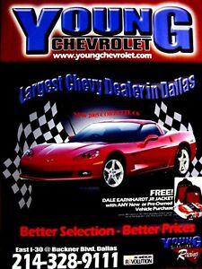 2005 Corvette C 6 Young Chevrolet Dallas Texas Regional Original Ad 8 5 X 11 Ebay
