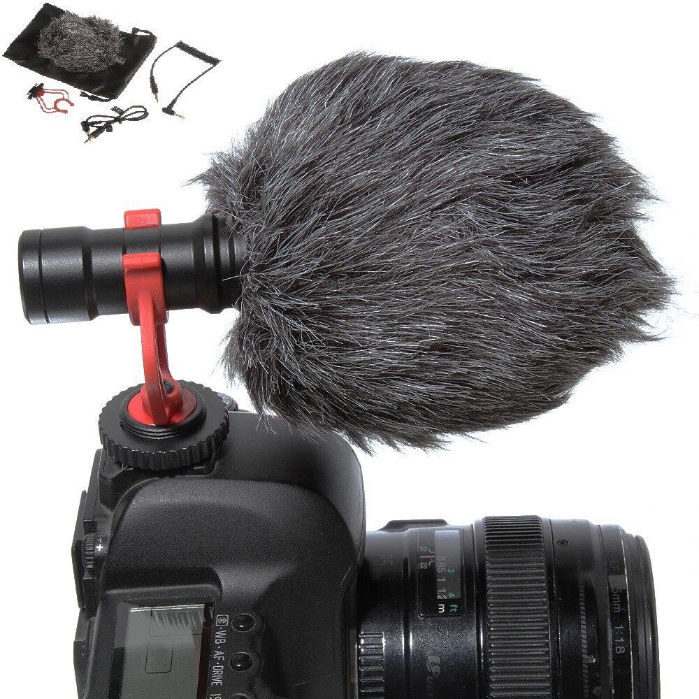 BOYA BY-MM1 Cardioid Shotgun Microphone MIC for DSLR Camera Smartphone Camcorder 11