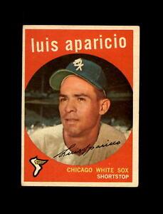 1959 Topps Baseball #310 Luis Aparicio (White Sox) EX