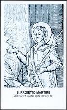 """santino-holy card""""S.PROIETTO M.-CASALE MONFERRATO"""