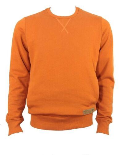 Diesel cotton sweat shirt orange
