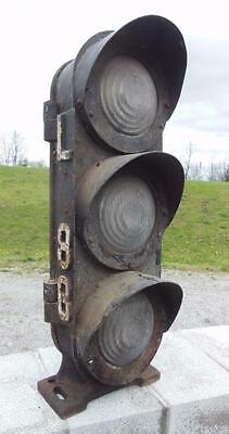 1920'S UNION SWITCH & CO. US&S CO. RAILROAD TRAIN TRACK SWITCH SIGNAL LIGHT #2