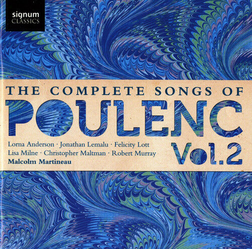 1 of 1 - F. Poulenc - Complete Songs 2 [New CD]
