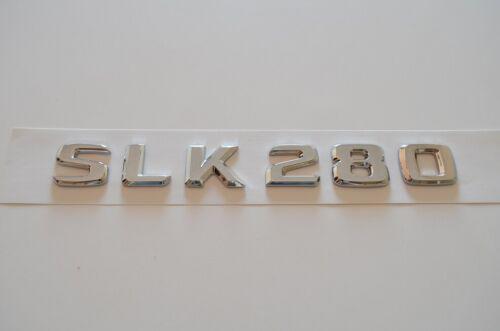 SLK280 Schriftzug Typenschild Aufkleber für Mercedes Trunk Badge Nameplate
