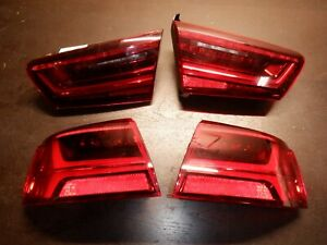 2015-2016-Audi-A6-S6-Face-Lift-Tail-Lights-Inner-Outer-Used-OEM