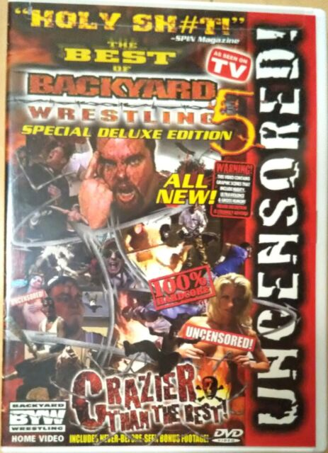 The Best Of Backyard Wrestling Crazier Than The Rest DVD ...