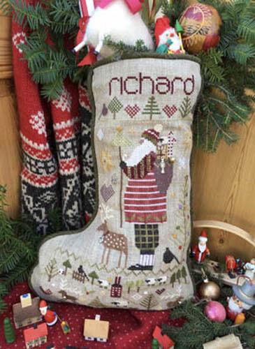 Richard/'s Stocking Shepherd/'s Bush Cross Stitch Pattern or Kit
