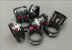 TOSEEK-Bicycle-Seatpost-Clamp-Carbon-27-2-30-8-31-6mm-MTB-Bike-Seat-Tube-Clamps