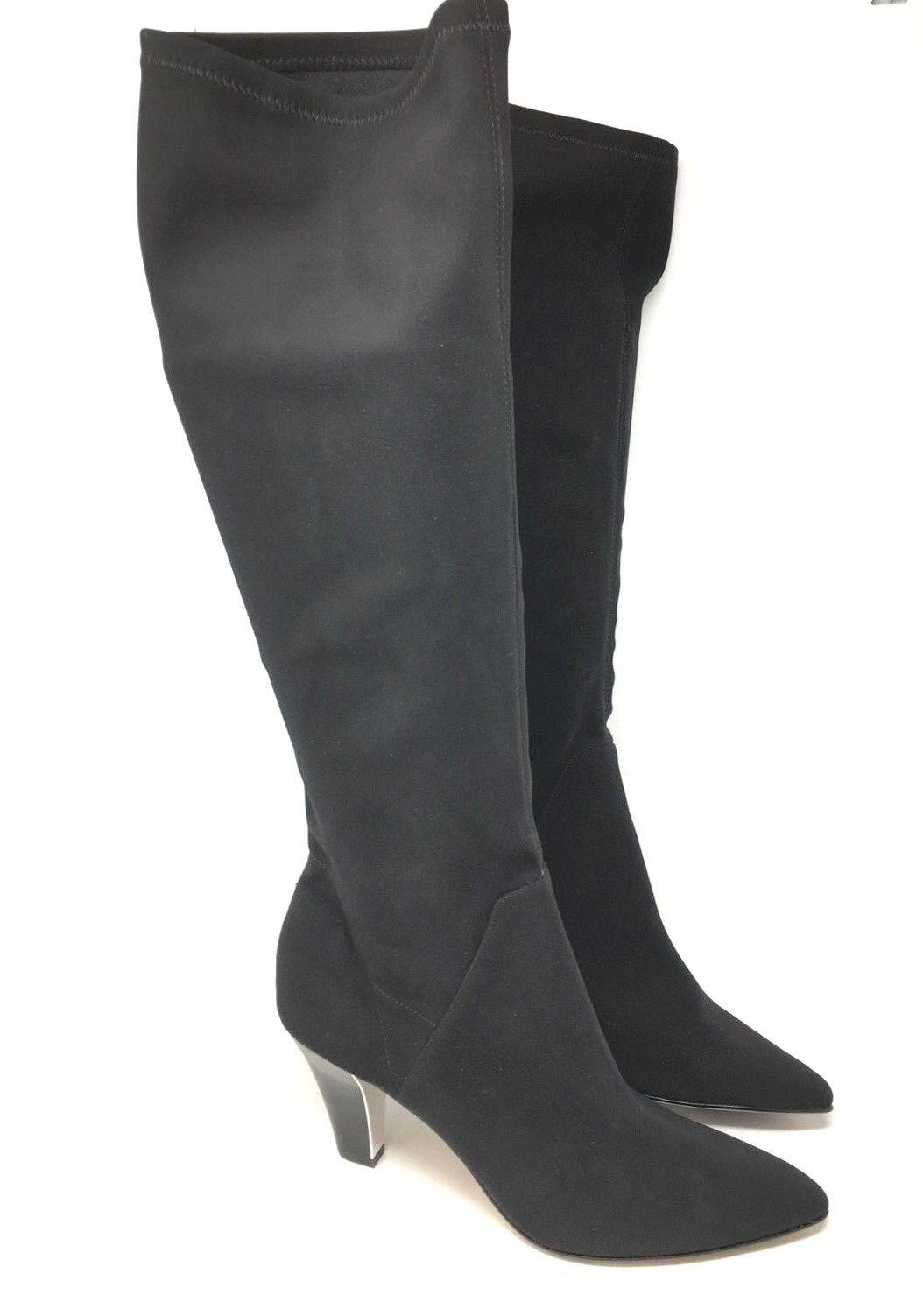 Donald J.Pliner Tessa Krepp Elastisch Damen Hoch Stiefel Schwarz Stiefel Hoch Größe: 5.5 ae68a8