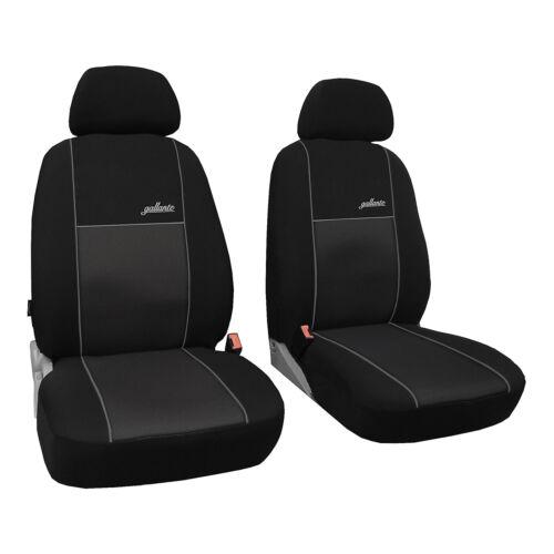 Universel Siège Auto Housses Noir Pour Toyota Corolla Verso Devant 1+1 référence voitures
