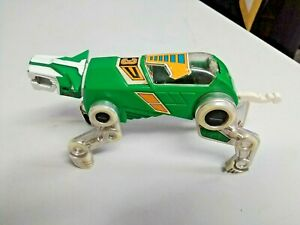 VINTAGE-1984-Voltron-Panosh-place-Green-Lion-with-canopy-WORLD-EVENTS-PRODUCTION