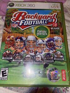 NFL Backyard Football '10 Microsoft Xbox 360 2009 Tested ...