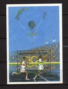 14636) British Virgin Isl. 1988 MNH S/S Olympic Games
