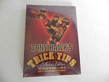 NEW Tony Hawk's Trick Tips Collectors Edition DVD Skateboard Vol. I, II, III