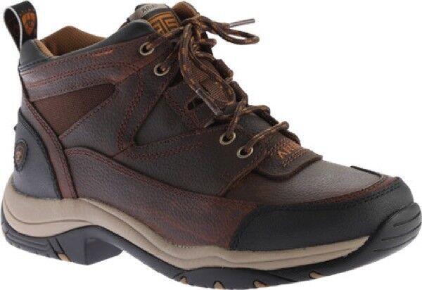 Ariat Terrain Boots (Men's) in Cordova Full Grain Leather Cordura - - NEW