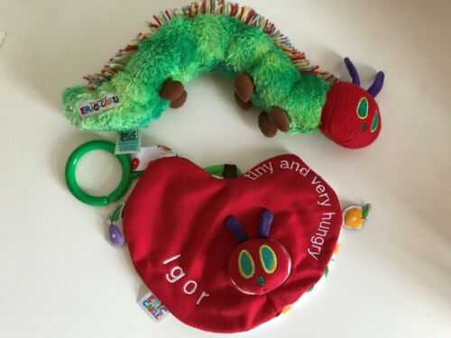 Personalised The Very Hungry Caterpillar Tiny And Very Hungry Comforter Blanket