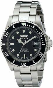 Invicta-Automatic-Pro-Diver-200M-Black-Dial-8926OB-Men-039-s-Watch