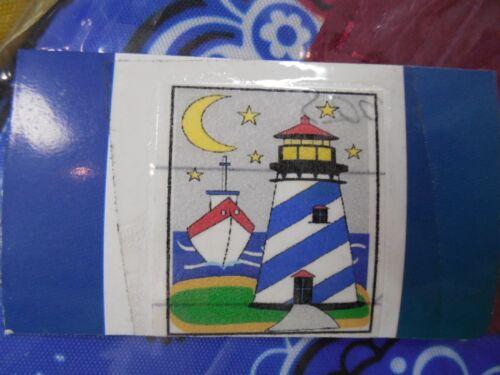 Beach Ocean Boat Summer Moon Coastal applique HOUSE flag CLR Lighthouse