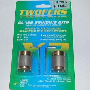 """Stained Glass Grinder Bits - Aanraku Twofers 1"""" Grinder Bit ULTRA FINE"""