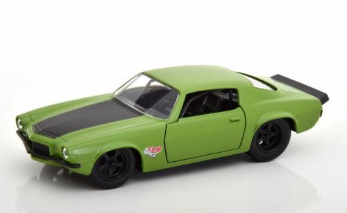 1:32 jada Chevrolet Camaro RS z28 fast /& Furious dom 1973