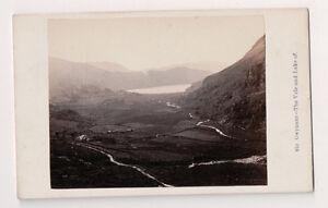 Vintage-CDV-Gwynant-The-Vale-amp-Lake-North-Wales-F-Bedford-Photo