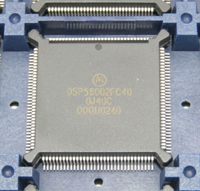 Motorola DSP56002FC40 QFP 24-BIT DSP Digital Signal Processor NEW