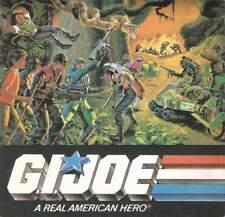 GI Joe figure vehicle CATALOG LOT of 5 1984 1985 1986 1987 1988 insert Cobra JTC