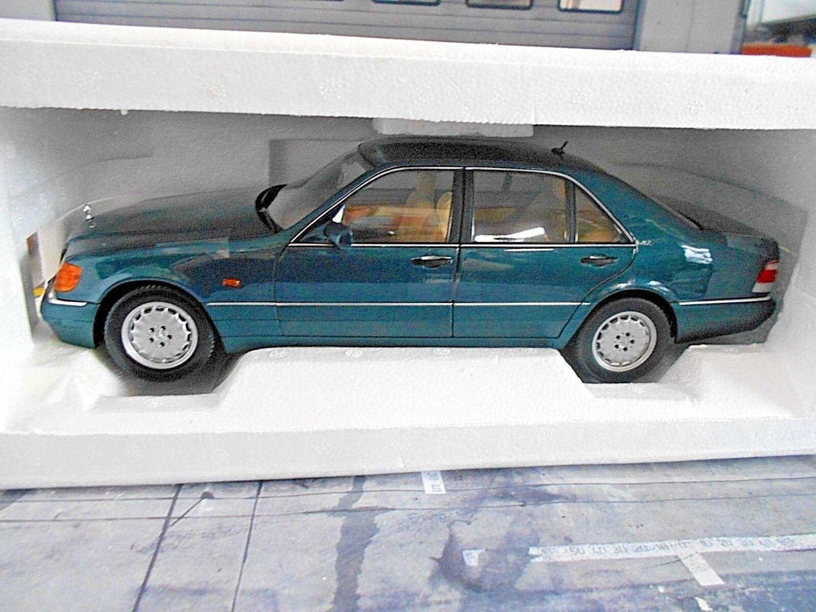 Mercedes Benz Classe S w140 600 s600 1997 Vert vert 183593 NOREV NEUF 1 18