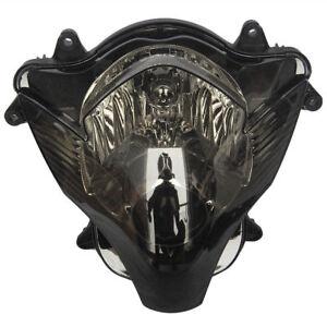 Smoke-Lens-Motorcycle-HeadLight-Assemblies-For-Suzuki-GSXR600-750-K6-2006-2007