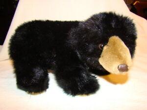Mary-Meyer-Plush-Black-Bear-Burley-Stuffed-Toy-Animal-13-034-Long