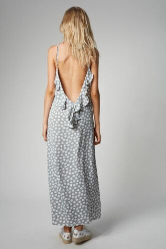 Xsmall Dress Slip Skye Ruffle Maxi Flynn UwRTaqFWX4